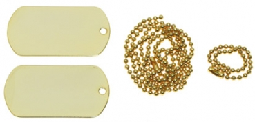 DOG TAG - Set gold